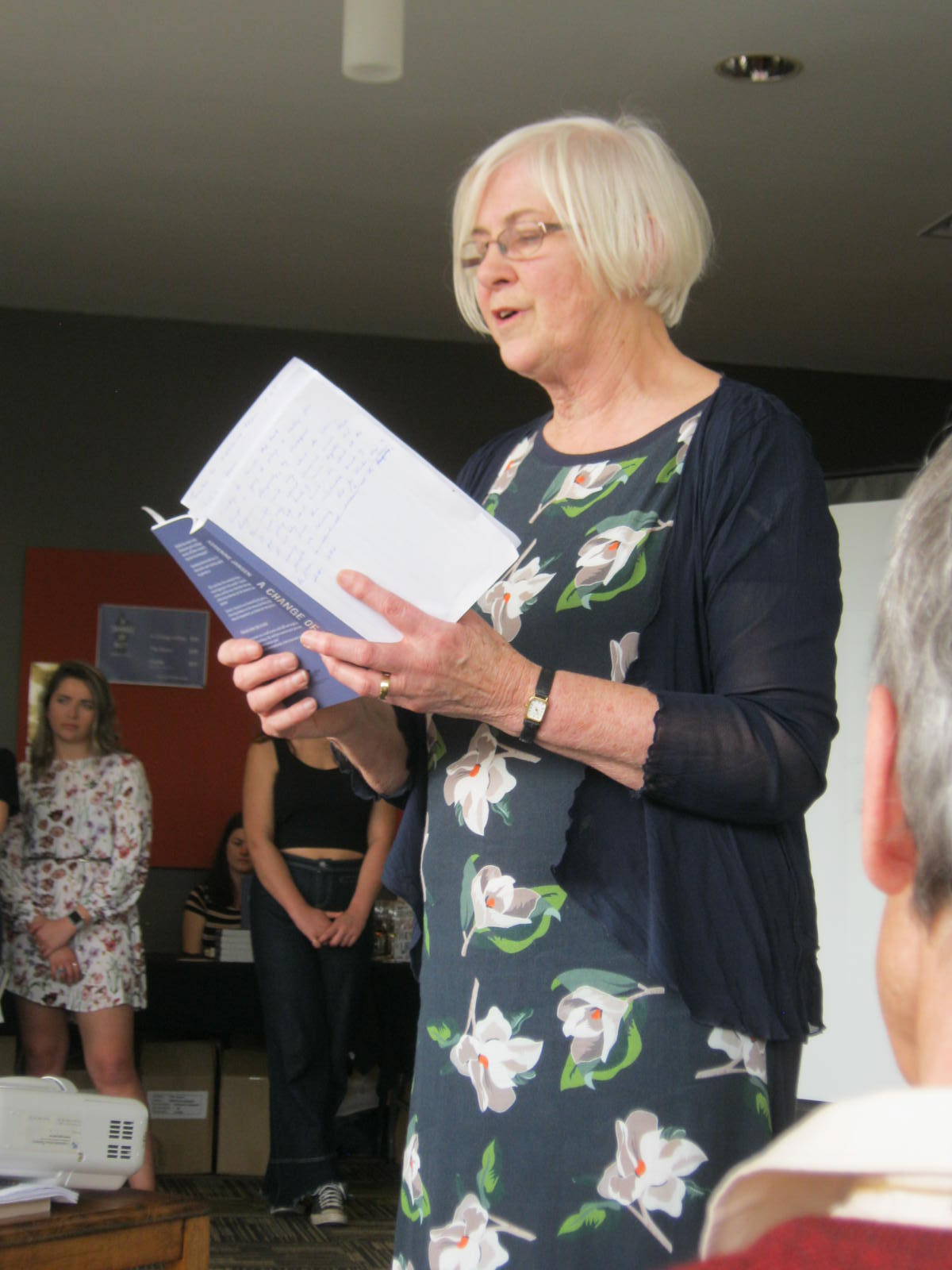 Adrienne Jansen A change of key book launch